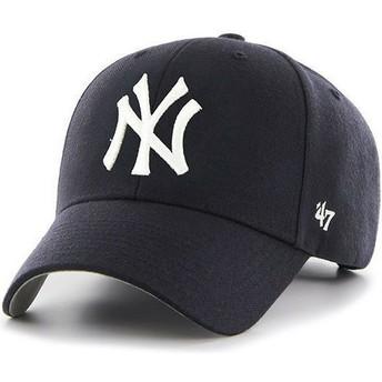Gorra curva azul marino para niño de New York Yankees MLB MVP de 47 Brand