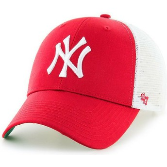 Gorra trucker roja de New York Yankees MLB MVP de 47 Brand
