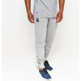 Pantalón largo gris Track Pant de Los Angeles Dodgers MLB de New Era