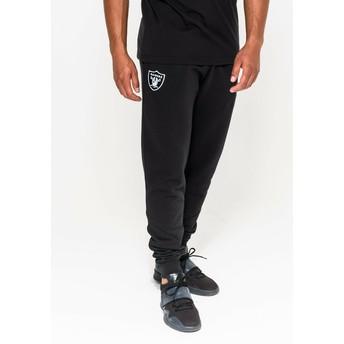 Pantalón largo negro Track Pant de Oakland Raiders NFL de New Era