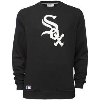 Sudadera negra Crew Neck de Chicago White Sox MLB de New Era