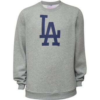 Sudadera gris Crew Neck de Los Angeles Dodgers MLB de New Era