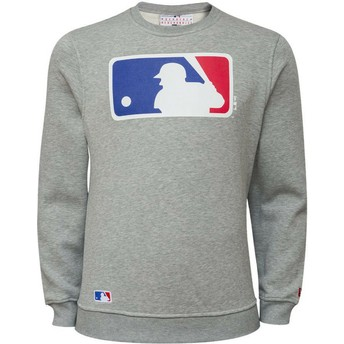 Sudadera gris Crew Neck de MLB de New Era