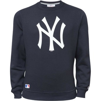 Sudadera azul Crew Neck de New York Yankees MLB de New Era