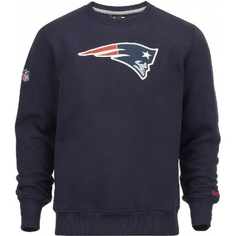 Sudadera azul Crew Neck de New England Patriots NFL de New Era