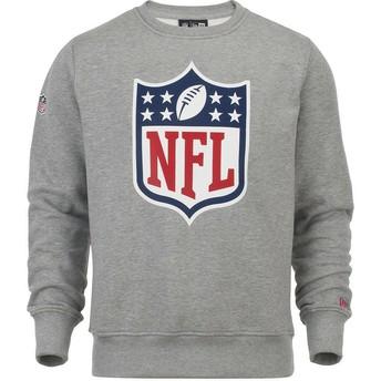 Sudadera gris Crew Neck de NFL de New Era