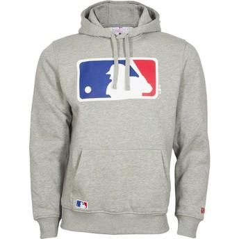 Sudadera con capucha gris Pullover Hoodie de MLB de New Era