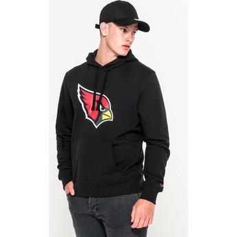Sudadera con capucha negra Pullover Hoodie de Arizona Cardinals NFL de New Era