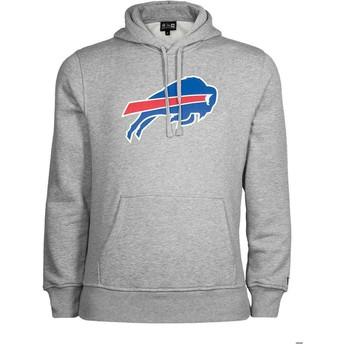 Sudadera con capucha gris Pullover Hoodie de Buffalo Bills NFL de New Era