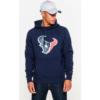 Sudadera con capucha azul Pullover Hoodie de Houston Texans NFL de New Era