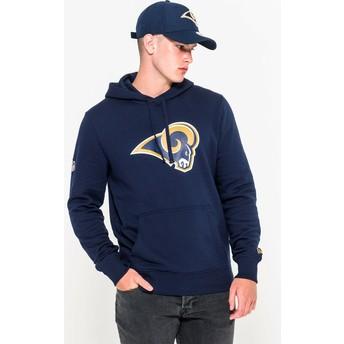 Sudadera con capucha azul Pullover Hoodie de Los Angeles Rams NFL de New Era