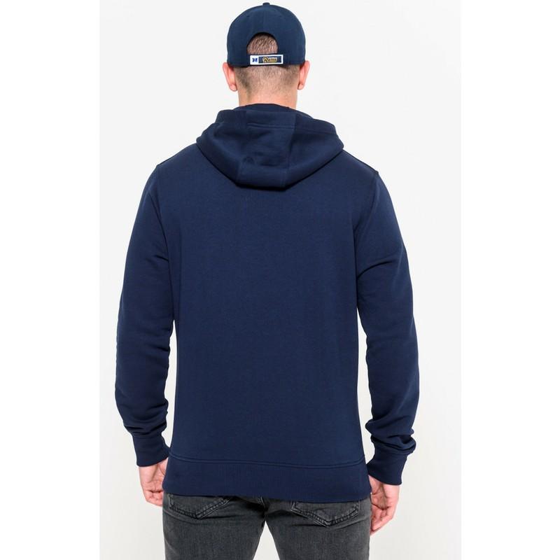 Sudadera Con Capucha Azul Pullover Hoodie De Los Angeles