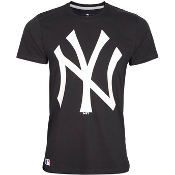 Camiseta de manga corta azul marino de New York Yankees MLB de New Era