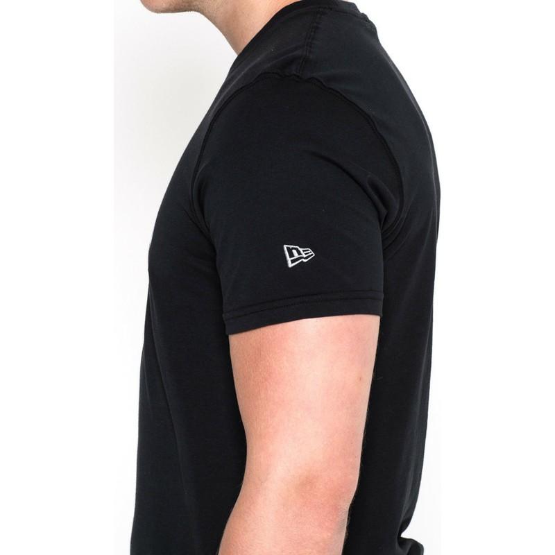 27d8f467e Camiseta de manga corta negra de Atlanta Falcons NFL de New Era ...