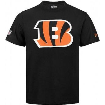 Camiseta de manga corta negra de Cincinnati Bengals NFL de New Era