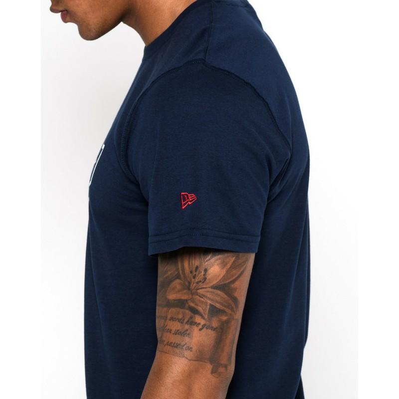 0f788739e6353 Camiseta de manga corta azul de New England Patriots NFL de New Era ...