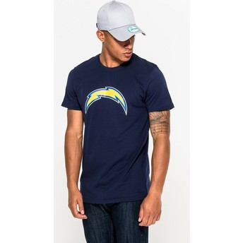 Camiseta de manga corta azul de San Diego Chargers NFL de New Era
