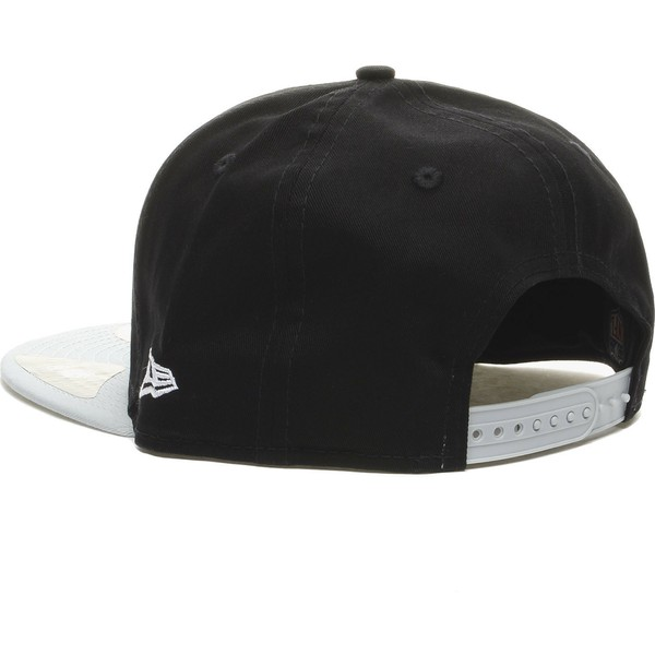 gorra-plana-gris-snapback-9fifty-cotton-block-de-oakland-raiders-nfl-de-new-era