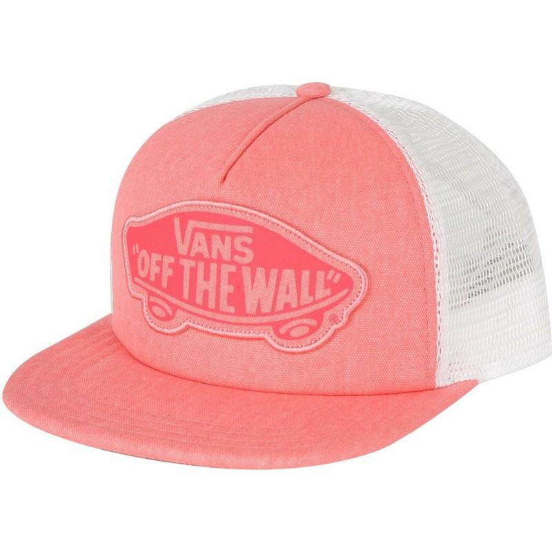 Gorra trucker rosa Beach Girl de Vans  comprar online en Caphunters 6b5fe3dd0bb