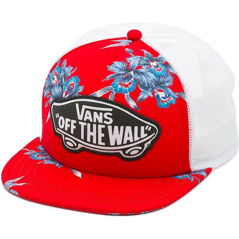Gorra trucker roja Beach Girl Hawaiian de Vans  comprar online en ... ac711c90994