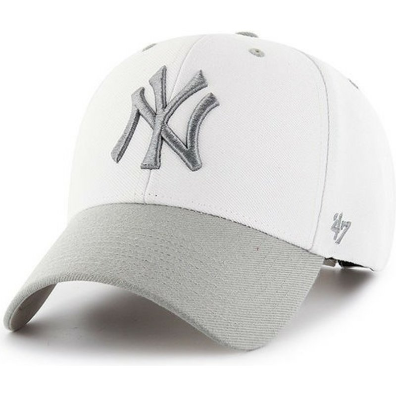 gorra-curva-blanca-de-new-york-yankees-mlb-audible-2-tone-mvp-de-47-brand