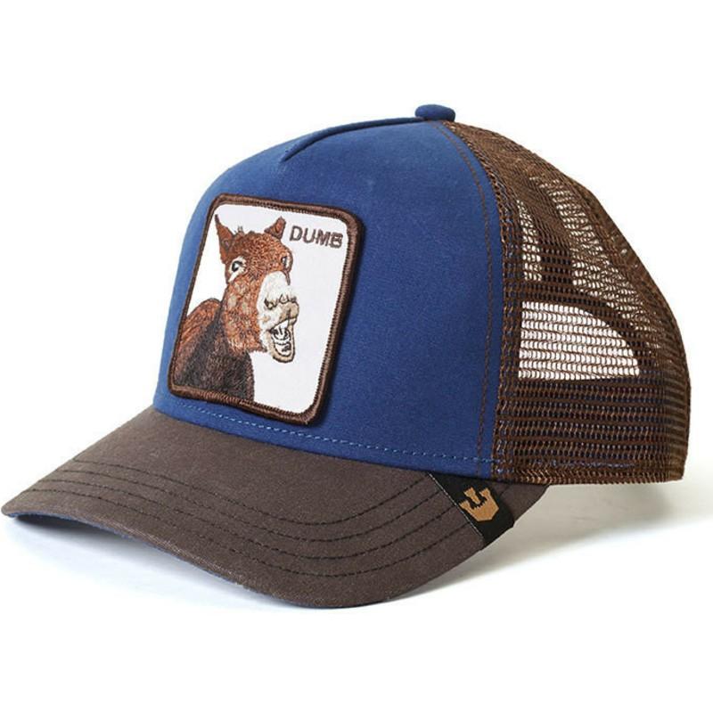 3b606ad98b179 Gorra trucker azul burro Dumbass de Goorin Bros.  comprar online en ...