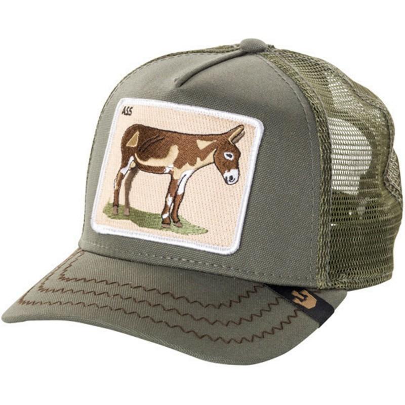 Gorra trucker verde burro Donkey Ass de Goorin Bros.  comprar online ... c0816cc4d40