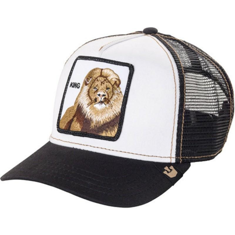 Gorra trucker negra león King de Goorin Bros.  comprar online en ... d6dca849a0b