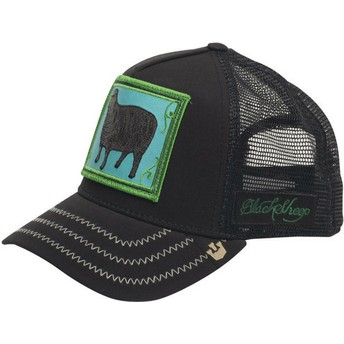 Gorra trucker negra oveja Black Sheep de Goorin Bros.