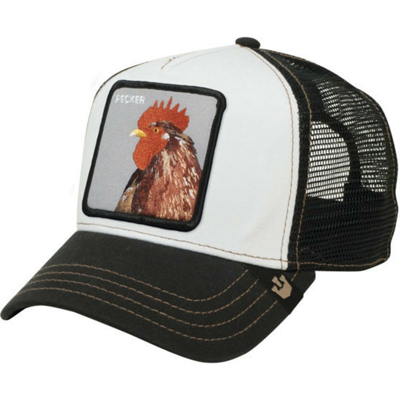 gorra-trucker-negra-gallo-plucker-de-goorin-bros