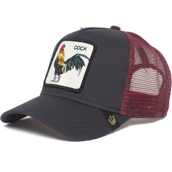 Gorra trucker negra gallo Prideful de Goorin Bros.