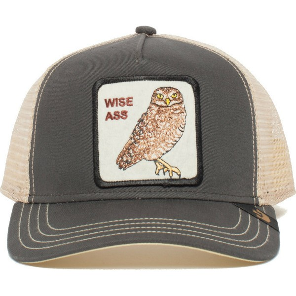 gorra-trucker-gris-lechuza-big-ass-de-goorin-bros