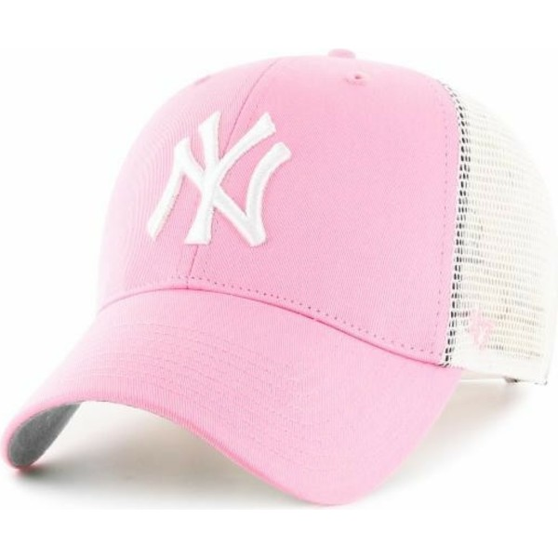 e3383a921dc4f Gorra trucker rosa de New York Yankees MLB de 47 Brand  comprar ...