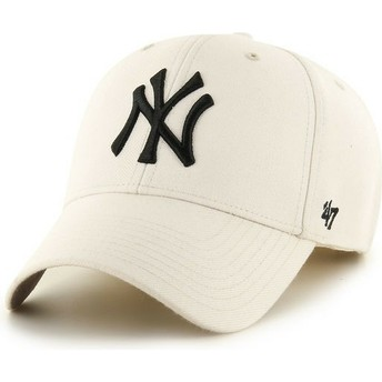 Gorra curva crema de New York Yankees MLB MVP de 47 Brand