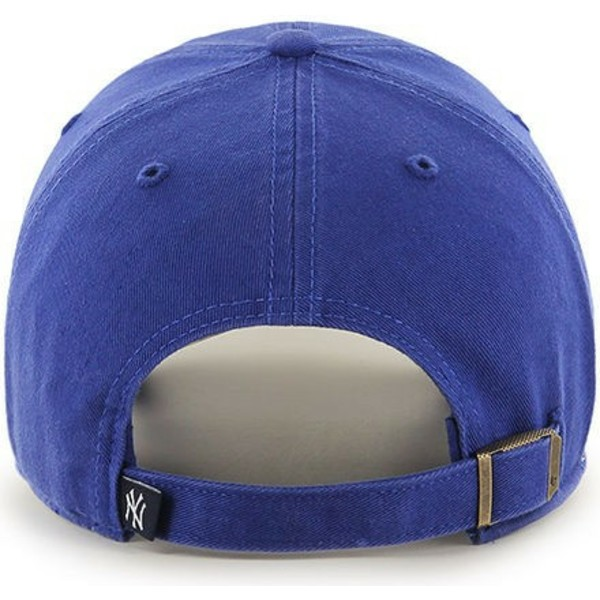 gorra-curva-azul-para-nino-de-new-york-yankees-mlb-clean-up-youth-de-47-brand