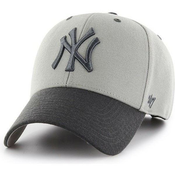 gorra-curva-gris-de-new-york-yankees-mlb-mvp-audible-2-tone-de-47-brand