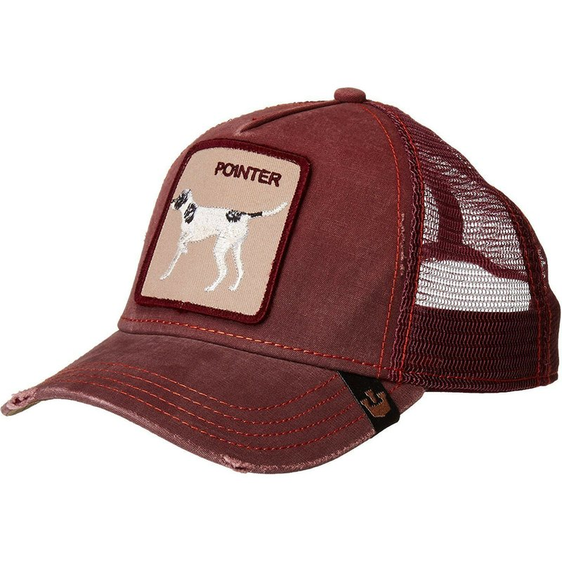 gorra-trucker-vino-perro-the-pointer-de-goorin-bros