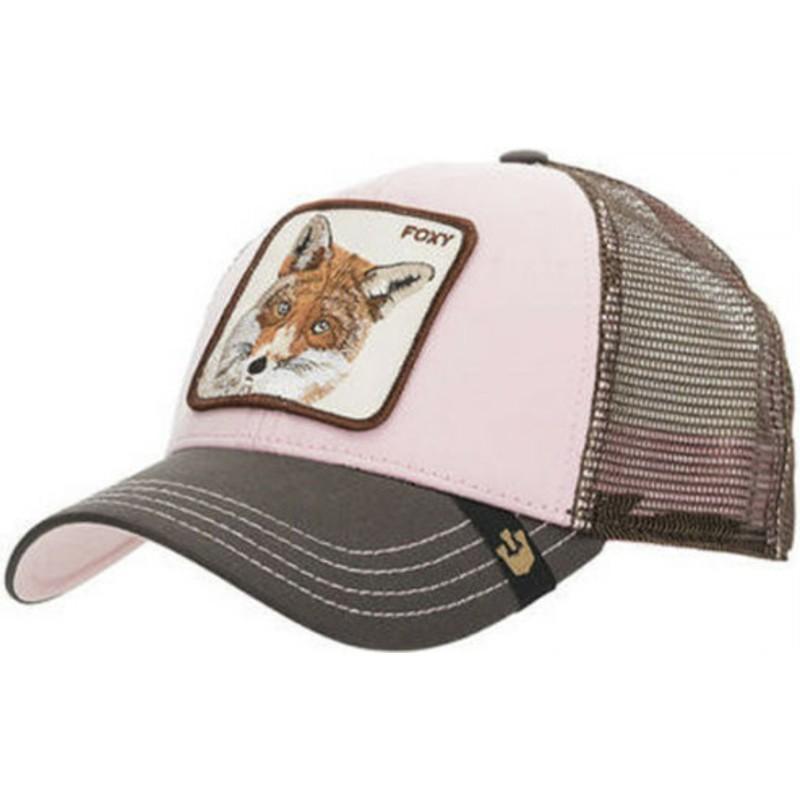 Gorra trucker rosa zorro Foxy Baby de Goorin Bros.  comprar online ... 86774c1a30e