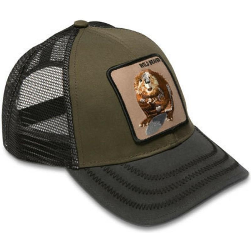 Gorra trucker verde castor Wild Beaver de Goorin Bros.  comprar ... a3823703664