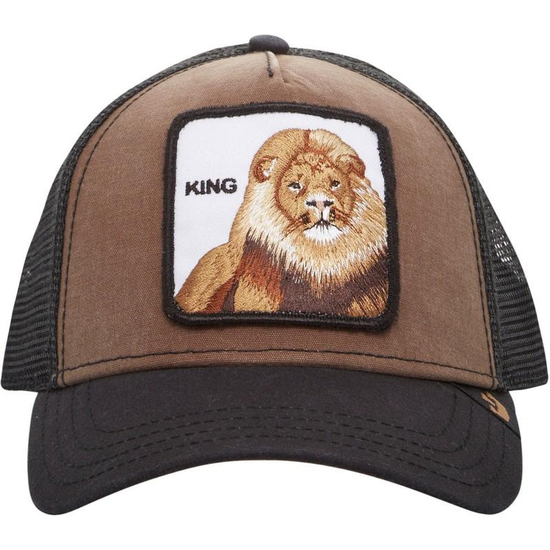 Gorra trucker marrón león King de Goorin Bros.  comprar online en ... 0348fc7a5f8