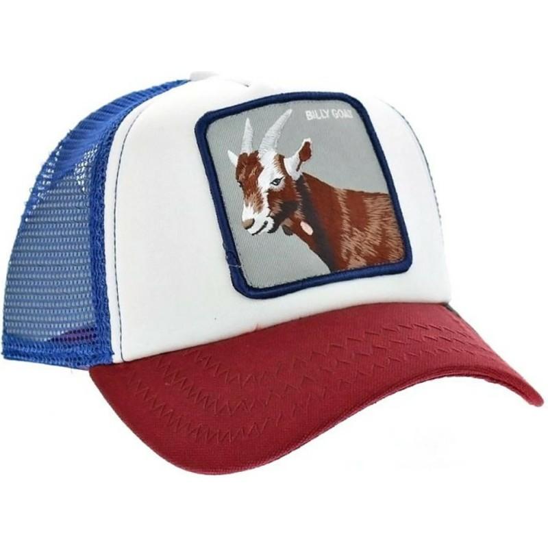 Gorra trucker azul cabra Hickory Stick de Goorin Bros.  comprar ... 61421aac553