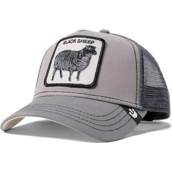 Gorra trucker gris oveja Shades of Black de Goorin Bros.