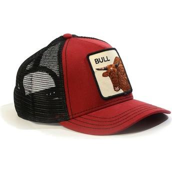 Gorra trucker roja toro Bull de Goorin Bros.