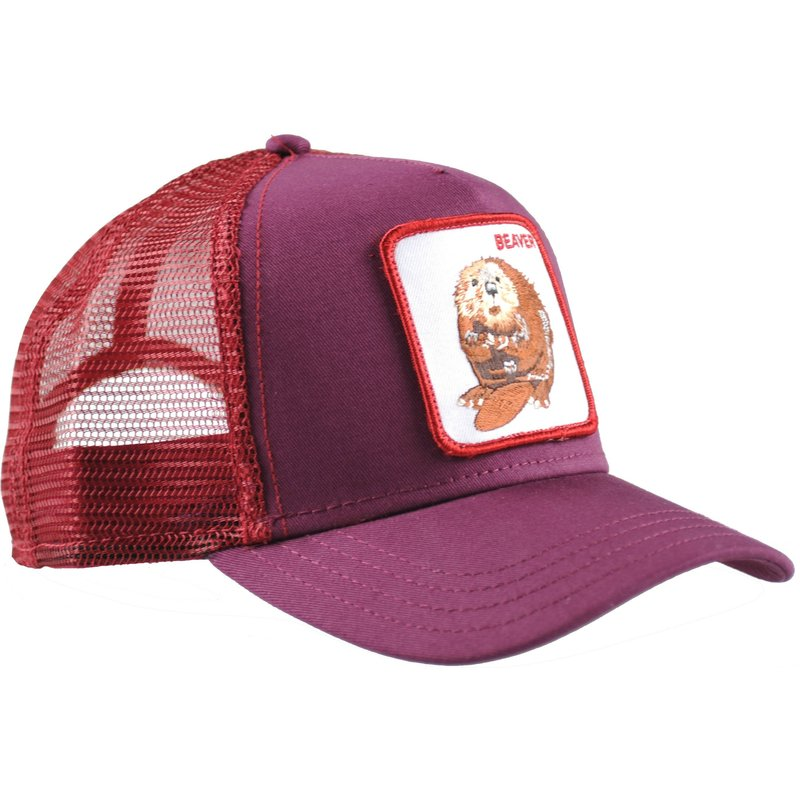 gorra-trucker-granate-castor-two-beavers-de-goorin-bros