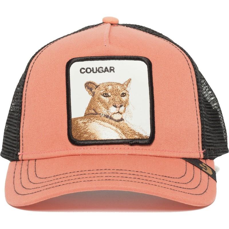 Gorra trucker rosa puma Cougar Town de Goorin Bros.  comprar online ... 519fafd824c