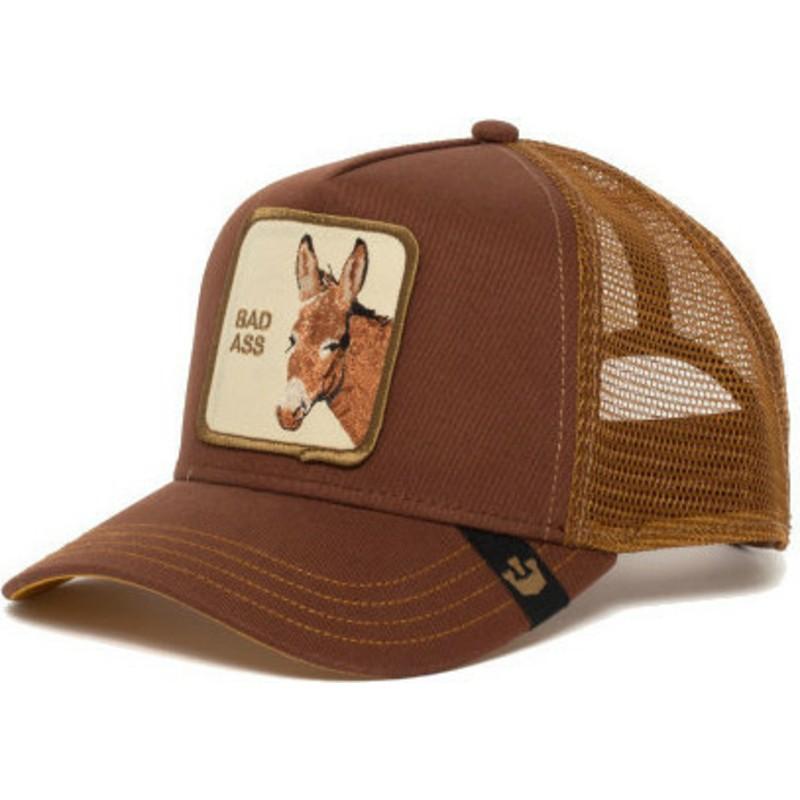 7969c3cb Gorra trucker marrón burro Bad Bad Ass de Goorin Bros.: comprar ...