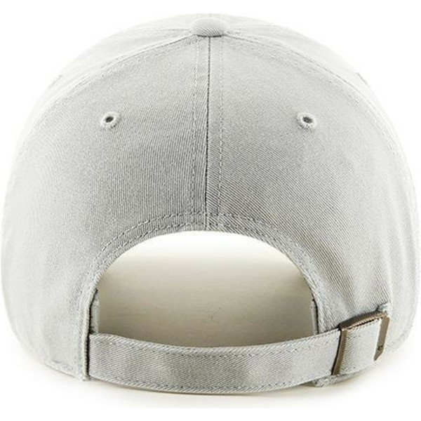 gorra-curva-gris-claro-de-new-york-yankees-mlb-clean-up-de-47-brand