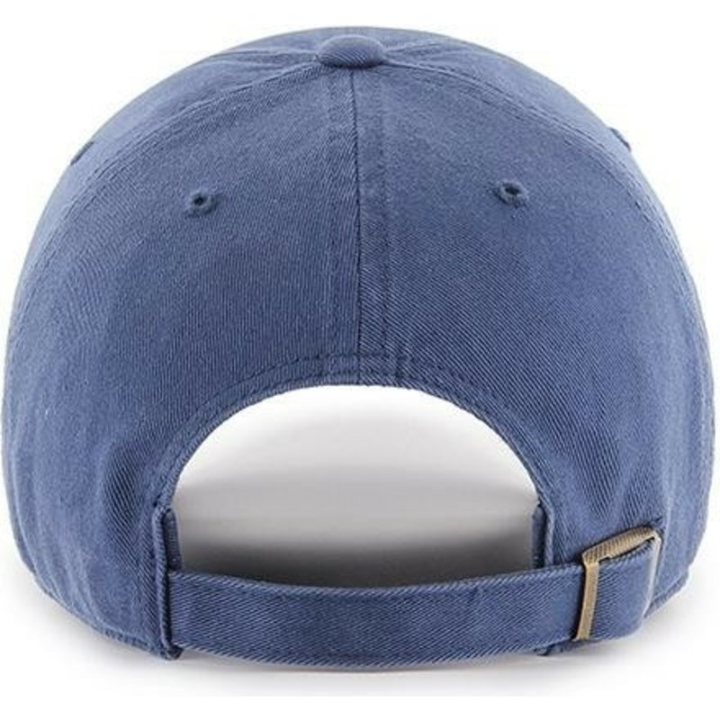 Gorra curva azul con logo azul de New York Yankees MLB Clean Up de ... 19457b1e3be