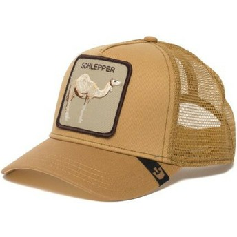 Gorra trucker marrón dromedario Hump Day de Goorin Bros.