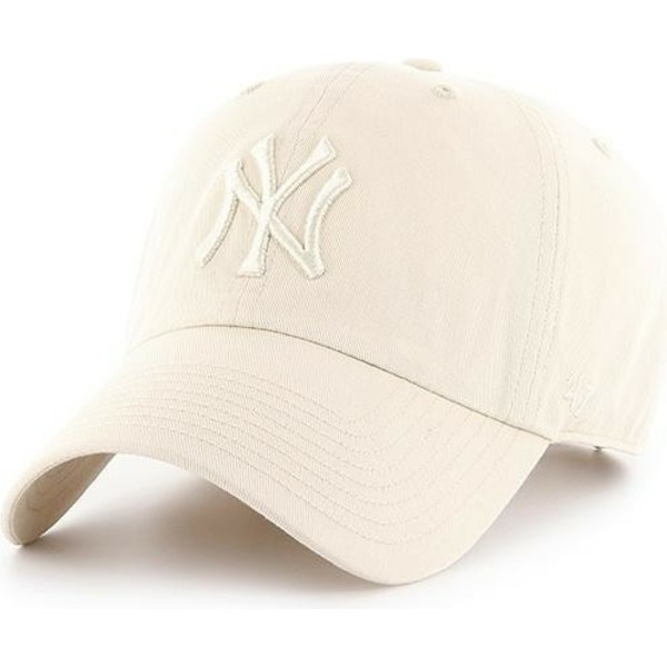 Gorra curva crema con logo crema de New York Yankees MLB Clean Up de ... cd220a42dd6
